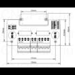 Léptetőmotor vezérlő, Pico Drive (P-type) 2v0