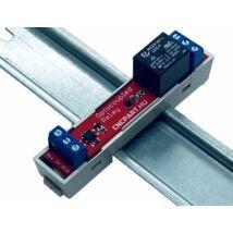 Optocsatolt relé áramkör din sinre 5V