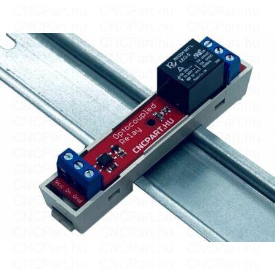 Optocsatolt relé áramkör din sinre 24V