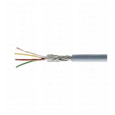 Árnyékolt kábel 4x0.25