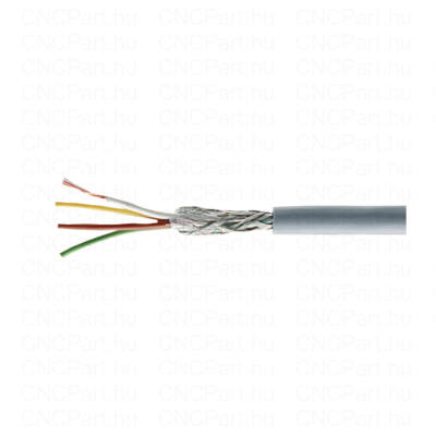 Árnyékolt kábel 7x0.25